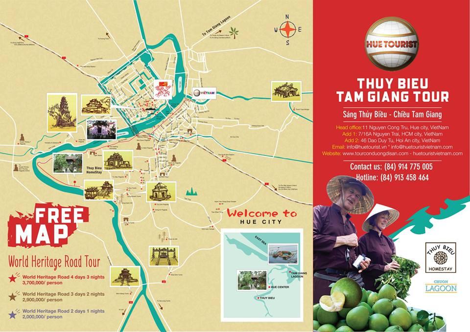 THUY BIEU VILLAGE AND TAM GIANG LAGOON