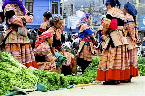 Le marché montagnard de Hà Giang, un vrai régal pour les yeux